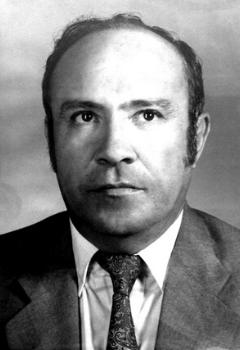 Abg. Enrique Flores Valeriano,  Ex-Decano de la Facultad de Ciencias Jurídicas (Año 1969)