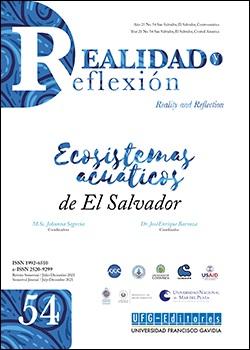 Ver Vol. 54 Núm. 54 (2021): Ecosistemas acuáticos de El Salvador